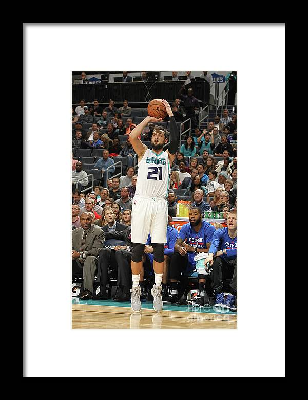 Nba Pro Basketball Framed Print featuring the photograph Marco Belinelli by Brock Williams-smith