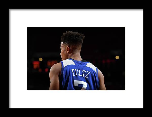 Nba Pro Basketball Framed Print featuring the photograph Markelle Fultz by Garrett Ellwood