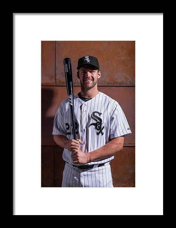 Media Day Framed Print featuring the photograph Matt White by Rob Tringali