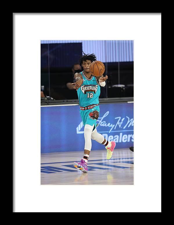 Nba Pro Basketball Framed Print featuring the photograph Memphis Grizzlies v Utah Jazz by Joe Murphy