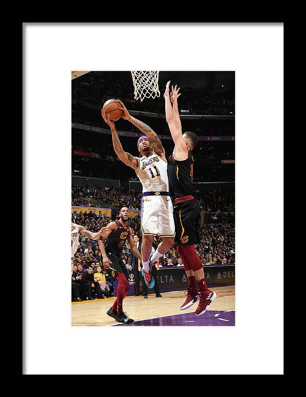 Michael Beasley Framed Print featuring the photograph Michael Beasley by Andrew D. Bernstein