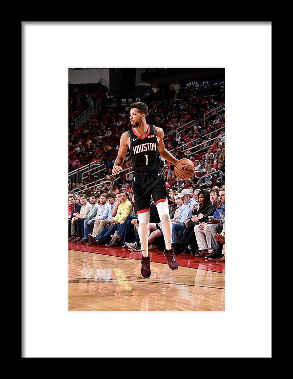 Nba Pro Basketball Framed Print featuring the photograph Michael Carter-williams by Bill Baptist