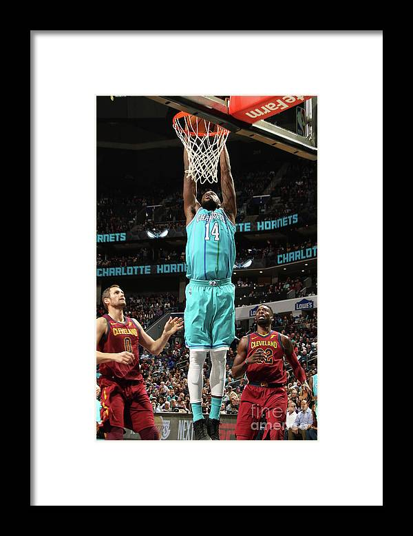 Nba Pro Basketball Framed Print featuring the photograph Michael Kidd-gilchrist by Brock Williams-smith