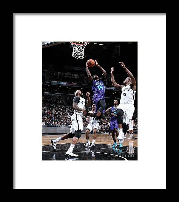 Nba Pro Basketball Framed Print featuring the photograph Michael Kidd-gilchrist by Nathaniel S. Butler