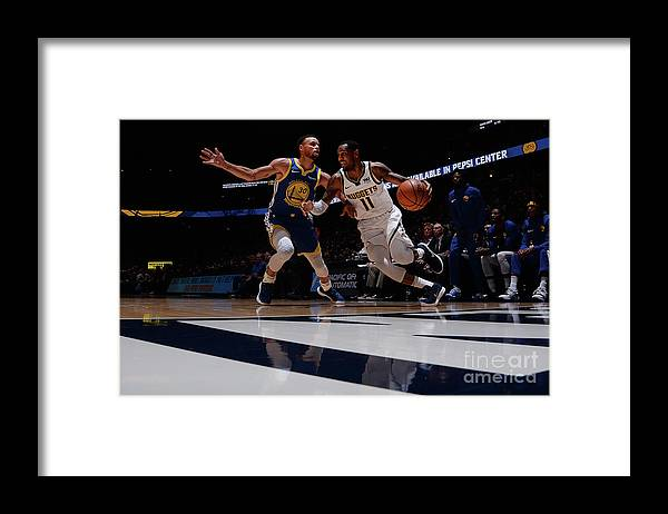 Nba Pro Basketball Framed Print featuring the photograph Monte Morris by Bart Young