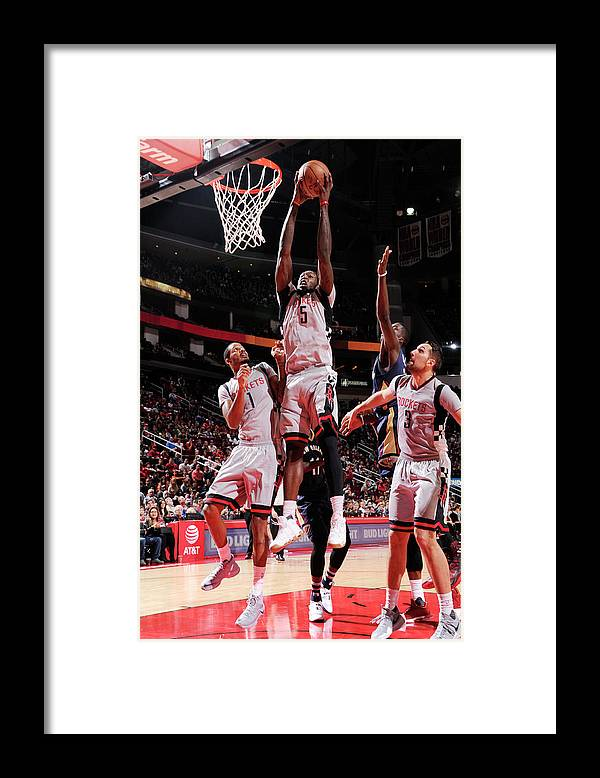 Nba Pro Basketball Framed Print featuring the photograph Montrezl Harrell by Bill Baptist