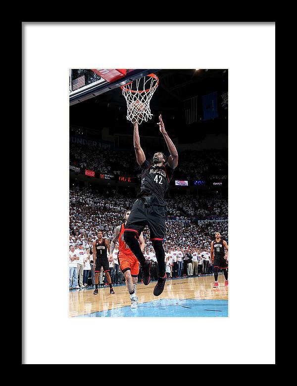 Playoffs Framed Print featuring the photograph Nene Hilario by Layne Murdoch