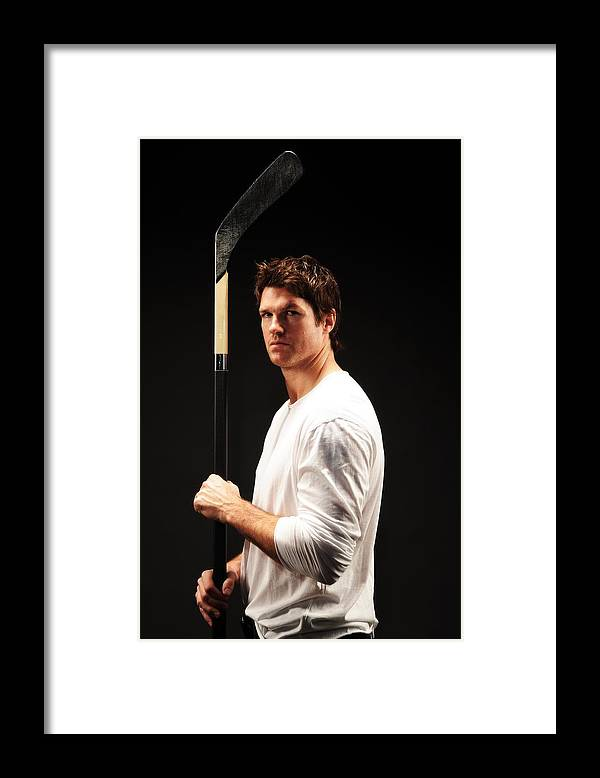 Atlanta Framed Print featuring the photograph NHL All-Star Stylized Portrait Shoot by Jennifer Pottheiser