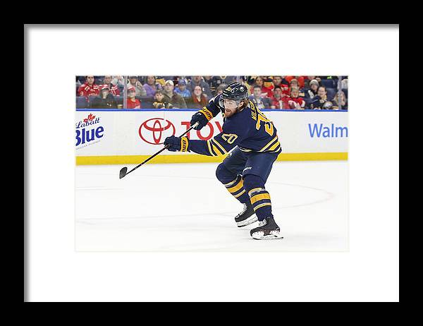 National Hockey League Framed Print featuring the photograph NHL: MAR 29 Red Wings at Sabres by Icon Sportswire