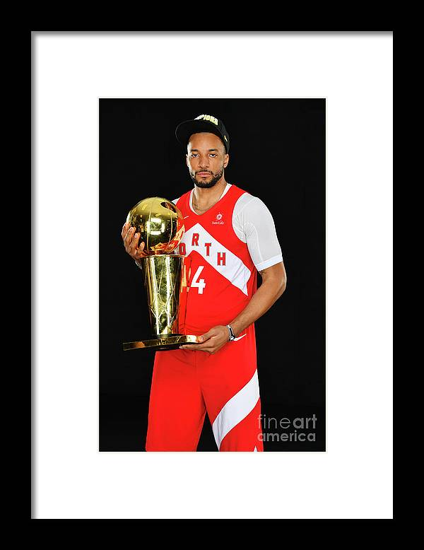 Playoffs Framed Print featuring the photograph Norman Powell by Jesse D. Garrabrant