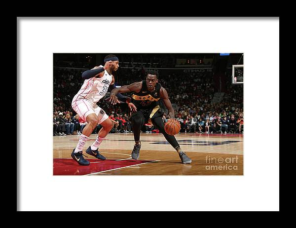 Playoffs Framed Print featuring the photograph Pascal Siakam by Ned Dishman