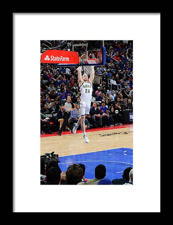 Playoffs Framed Print featuring the photograph Pat Connaughton by Chris Schwegler