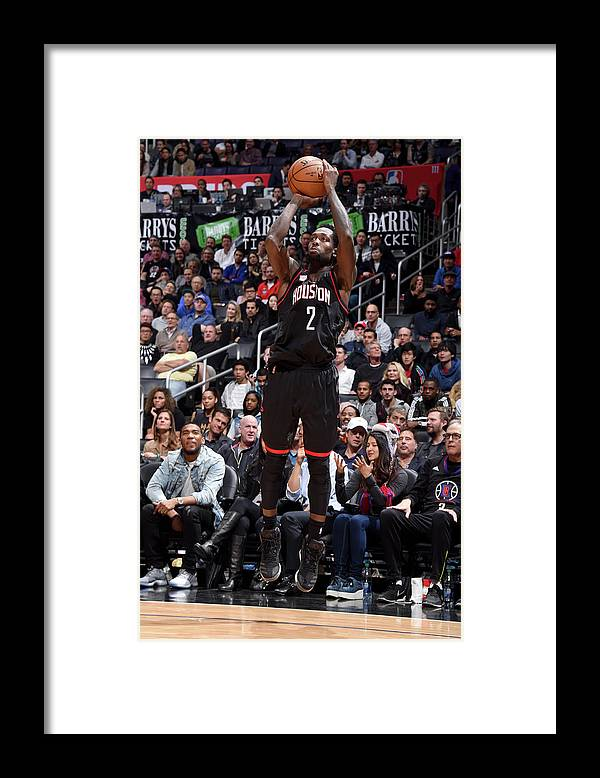 Nba Pro Basketball Framed Print featuring the photograph Patrick Beverley by Andrew D. Bernstein