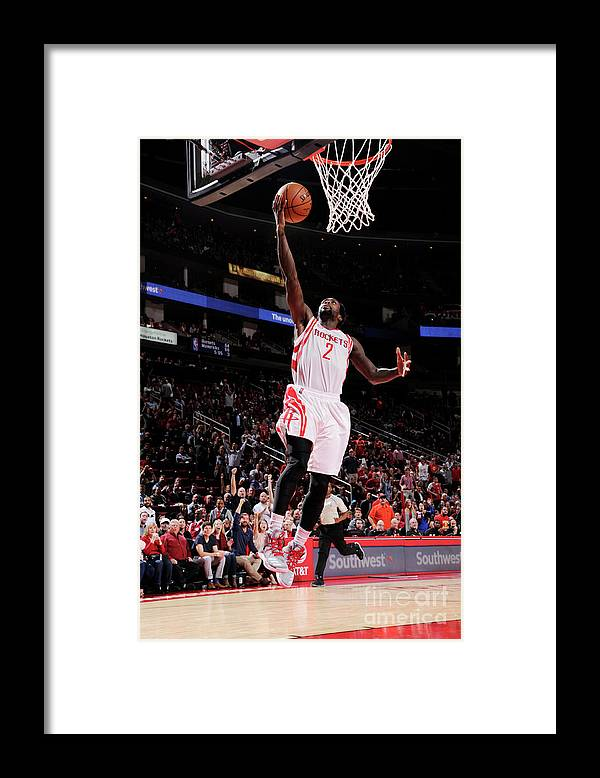Nba Pro Basketball Framed Print featuring the photograph Patrick Beverley by Bill Baptist
