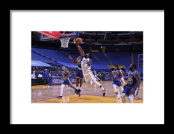 San Francisco Framed Print featuring the photograph Patrick Beverley by Noah Graham