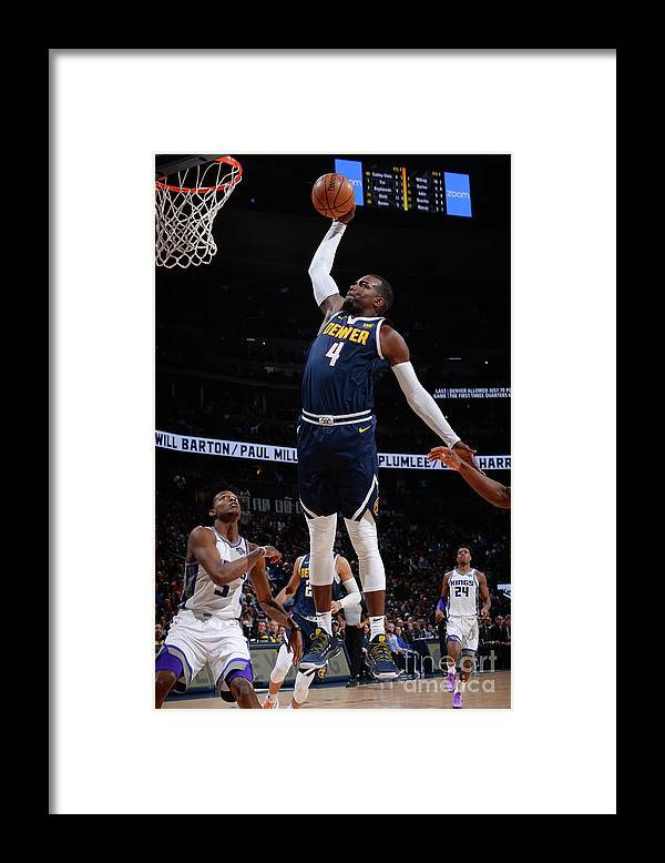 Nba Pro Basketball Framed Print featuring the photograph Paul Millsap by Bart Young