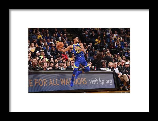 Nba Pro Basketball Framed Print featuring the photograph Quinn Cook by Noah Graham
