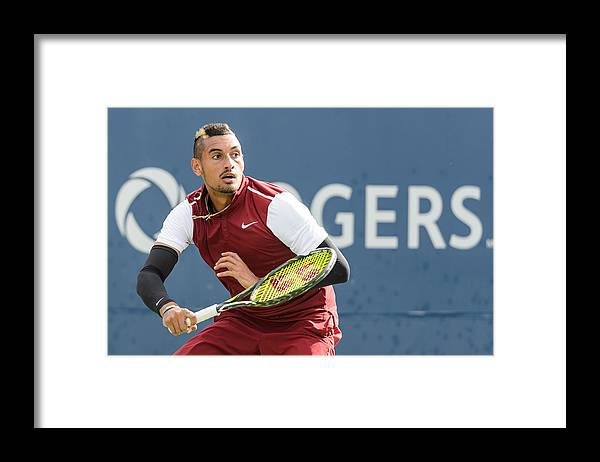 Tennis Framed Print featuring the photograph Rogers Cup Montreal - Day 4 by Minas Panagiotakis