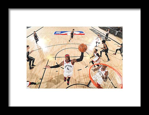 Playoffs Framed Print featuring the photograph Rondae Hollis-jefferson by Jesse D. Garrabrant