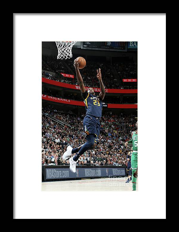 Nba Pro Basketball Framed Print featuring the photograph Royce O'neale by Melissa Majchrzak