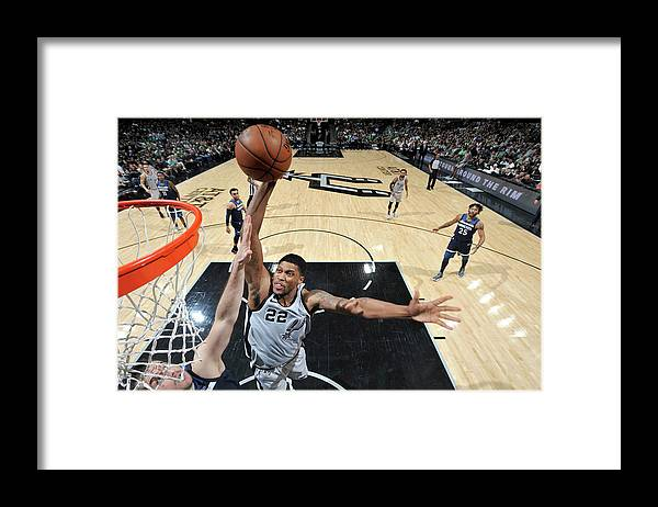 Nba Framed Print featuring the photograph Rudy Gay by Mark Sobhani