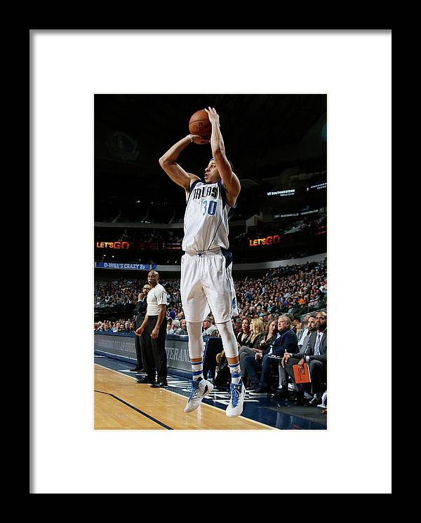 Nba Pro Basketball Framed Print featuring the photograph Seth Curry by Danny Bollinger