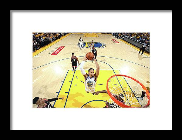 Playoffs Framed Print featuring the photograph Shaun Livingston by Nathaniel S. Butler