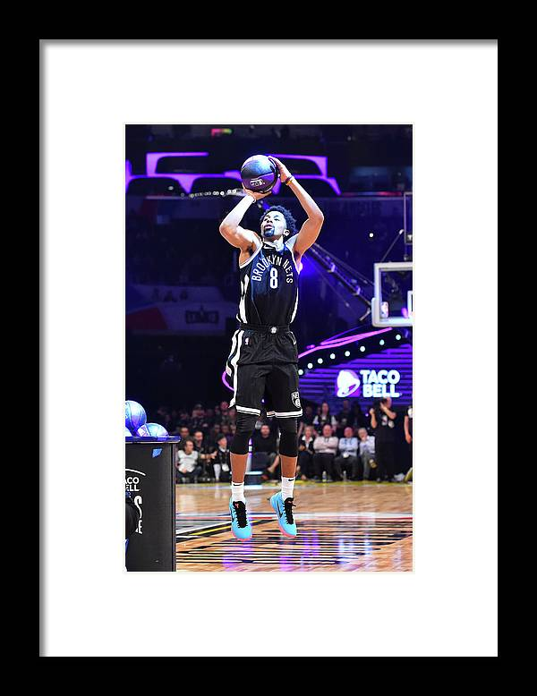 Event Framed Print featuring the photograph Spencer Dinwiddie by Jesse D. Garrabrant