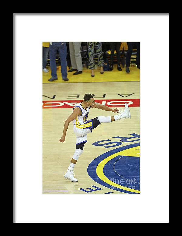 Playoffs Framed Print featuring the photograph Stephen Curry by Joe Murphy