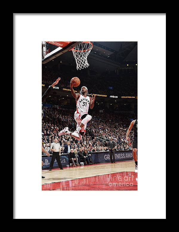 Nba Pro Basketball Framed Print featuring the photograph Terrence Ross by Ron Turenne
