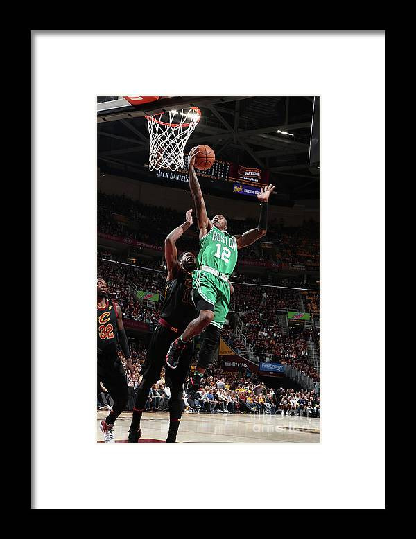 Playoffs Framed Print featuring the photograph Terry Rozier by Nathaniel S. Butler