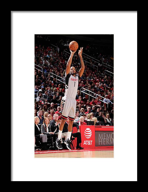 Nba Pro Basketball Framed Print featuring the photograph Trevor Ariza by Bill Baptist