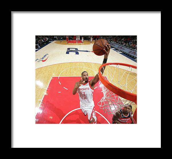 Nba Pro Basketball Framed Print featuring the photograph Trevor Ariza by Ned Dishman