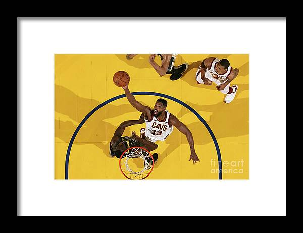 Playoffs Framed Print featuring the photograph Tristan Thompson by Nathaniel S. Butler