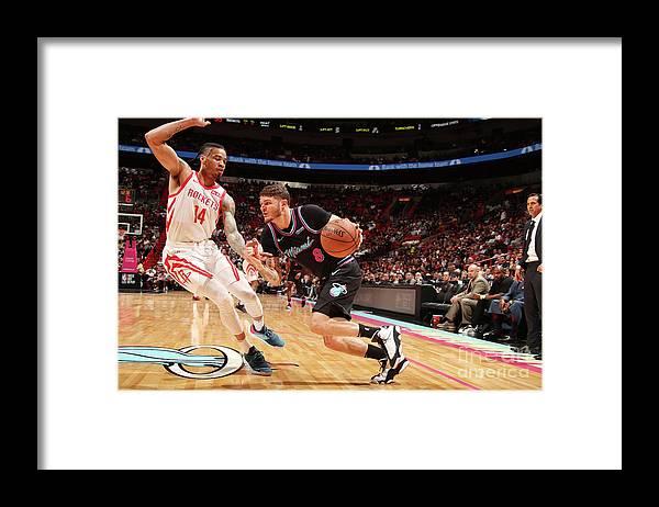 Nba Pro Basketball Framed Print featuring the photograph Tyler Johnson by Issac Baldizon