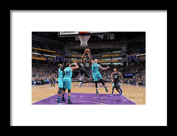 Nba Pro Basketball Framed Print featuring the photograph Tyreke Evans by Rocky Widner