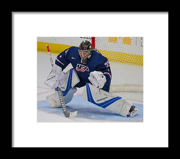 Following Framed Print featuring the photograph USA v Sweden by Dave Reginek