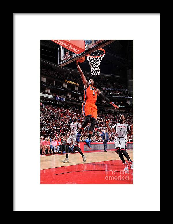 Nba Pro Basketball Framed Print featuring the photograph Victor Oladipo by Bill Baptist
