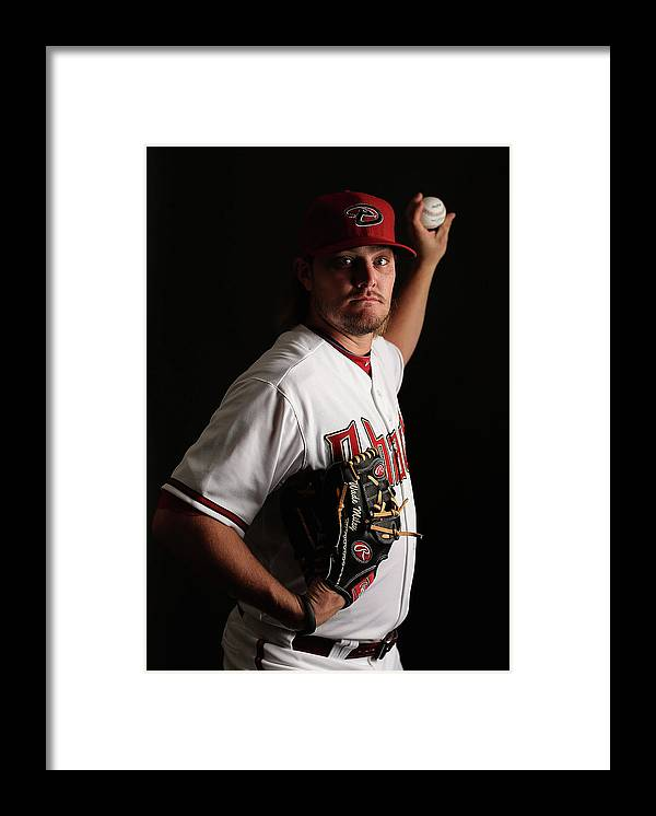 Media Day Framed Print featuring the photograph Wade Miley by Christian Petersen
