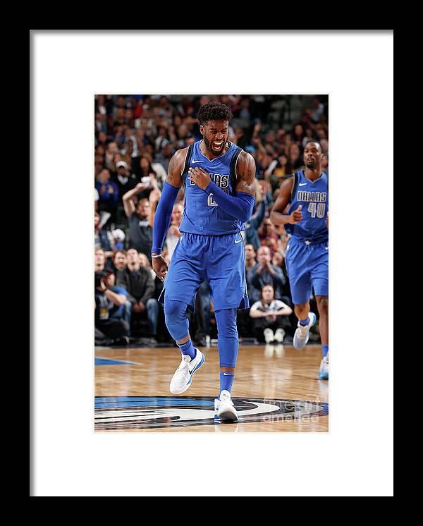 Nba Pro Basketball Framed Print featuring the photograph Wesley Matthews by Glenn James