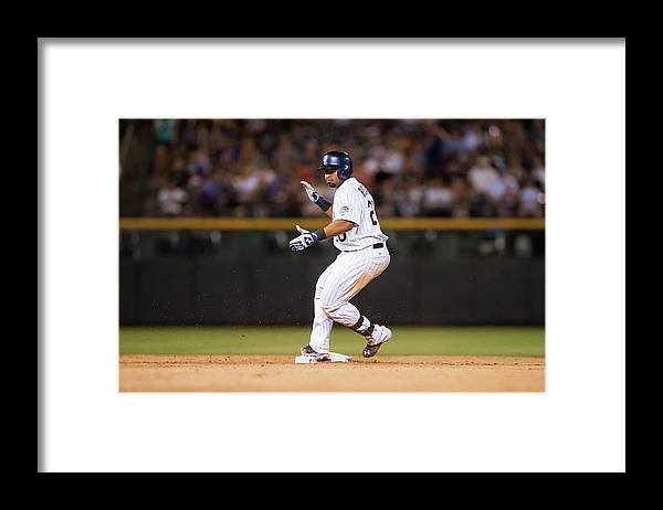 Celebration Framed Print featuring the photograph Wilin Rosario by Dustin Bradford