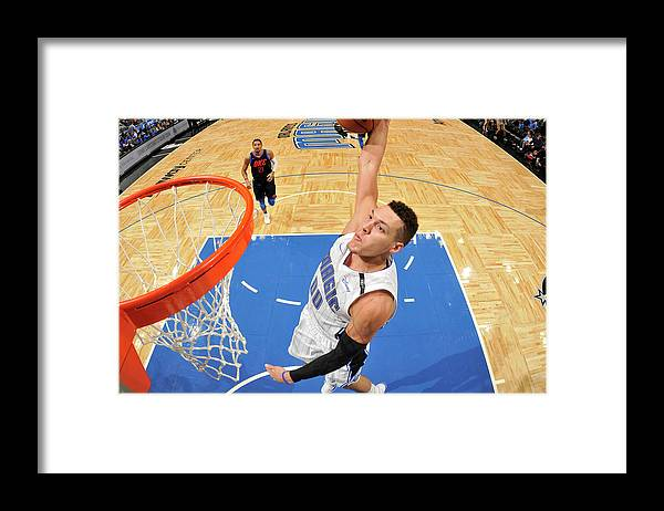 Nba Pro Basketball Framed Print featuring the photograph Aaron Gordon by Fernando Medina
