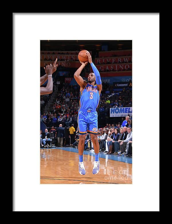 Nba Pro Basketball Framed Print featuring the photograph Chris Paul by Bill Baptist