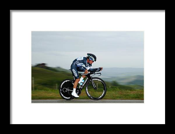 Individual Event Framed Print featuring the photograph 2014 Giro d'Italia - Stage Twelve by Harry Engels