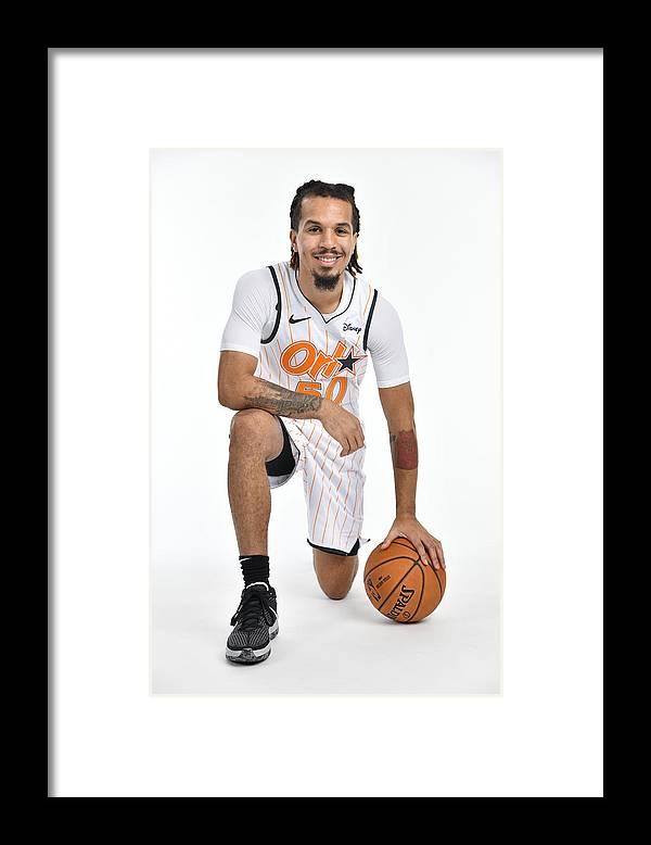 Nba Pro Basketball Framed Print featuring the photograph 2020-2021 Orlando Magic Content Day by Fernando Medina