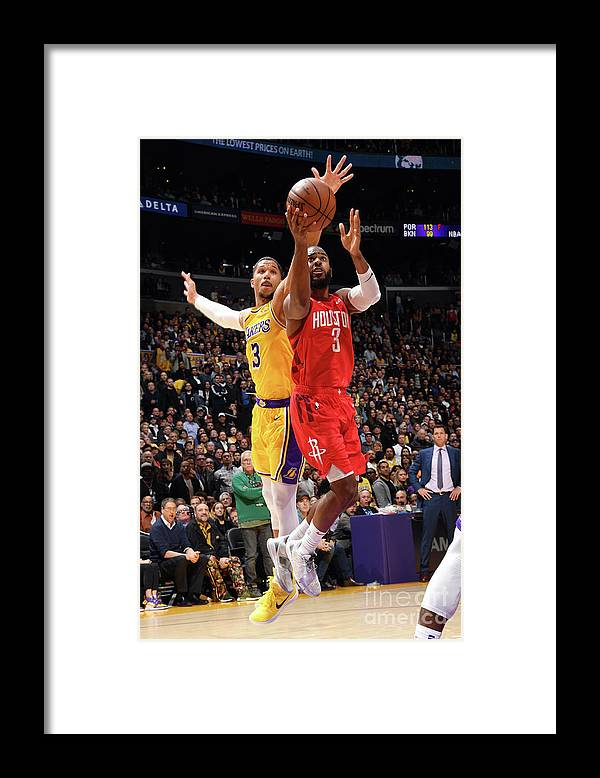 Nba Pro Basketball Framed Print featuring the photograph Chris Paul by Andrew D. Bernstein