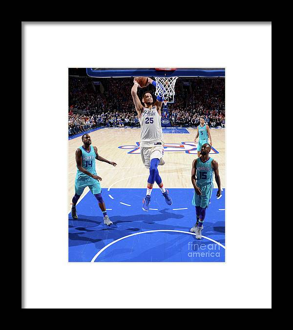Nba Pro Basketball Framed Print featuring the photograph Ben Simmons by Jesse D. Garrabrant