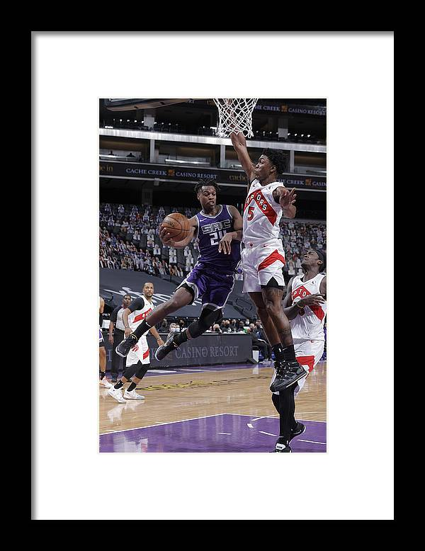 Nba Pro Basketball Framed Print featuring the photograph Buddy Hield by Rocky Widner