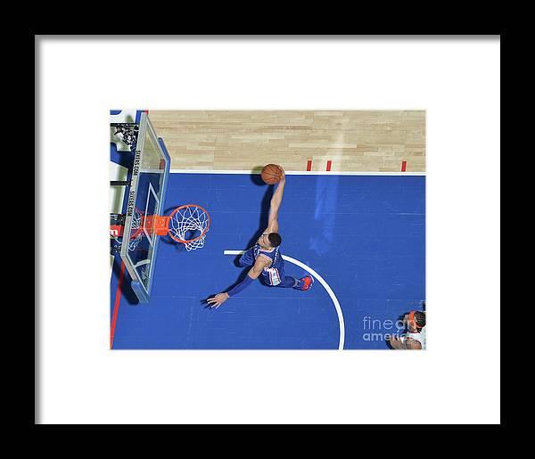 Sports Ball Framed Print featuring the photograph Ben Simmons by Jesse D. Garrabrant