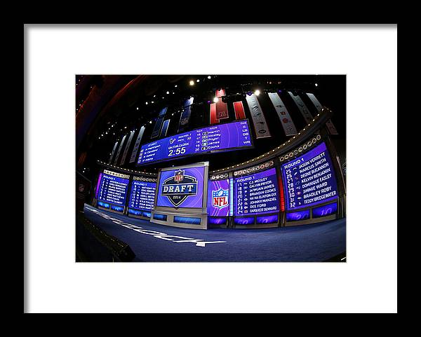 Nfl Draft Framed Print featuring the photograph 2014 NFL Draft by Elsa